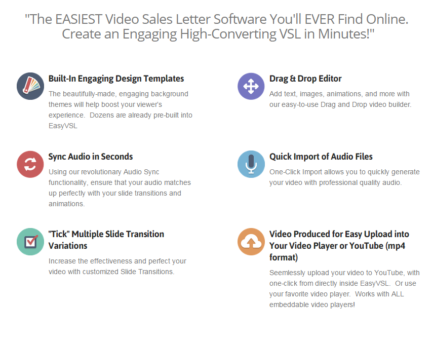 Easyvsl 2 0 Review The Easiest Video Sales Letter Software