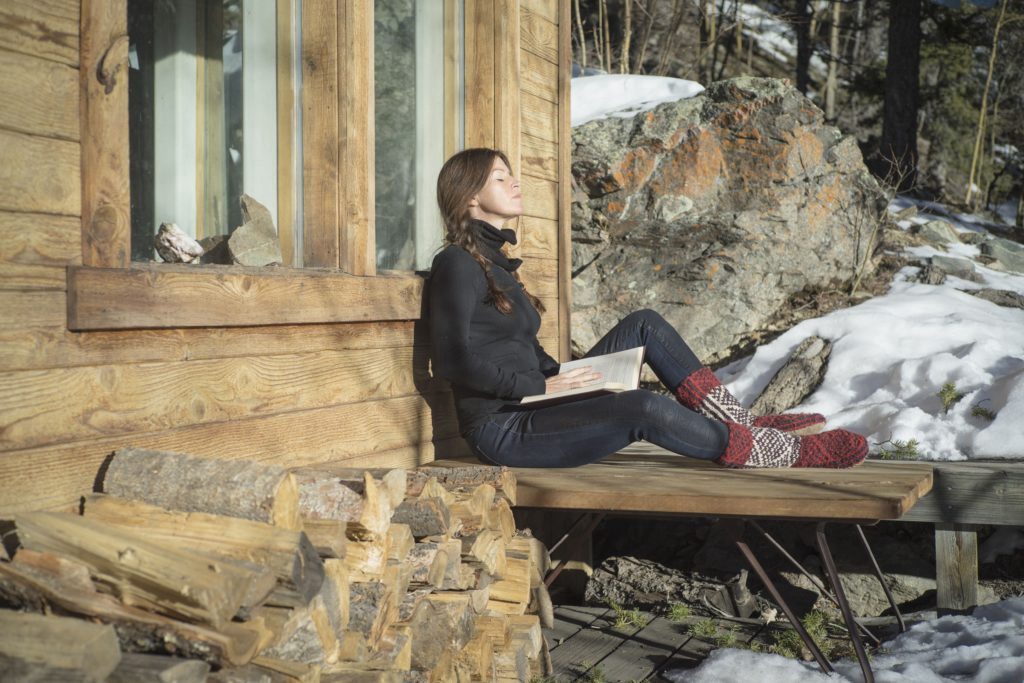 Reading at the Cabin