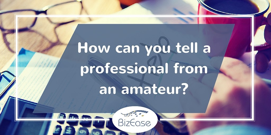 How can you tell a virtual assistance professional from an amateur?