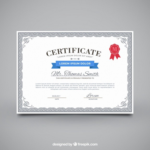 30 Free Certificate Templates Templatemonster Medium