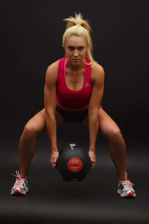 i really like natalie gulbis�s preseason workout � ride