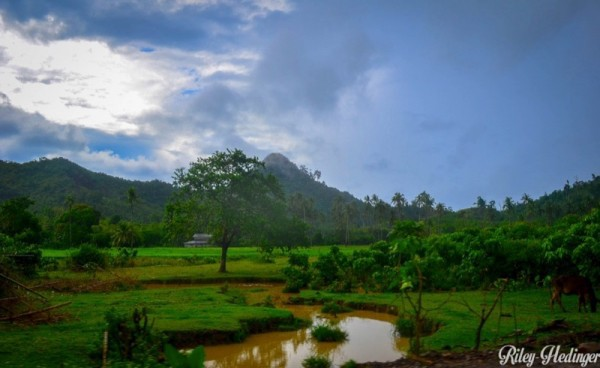 After the rain in Palawan, The Philippines