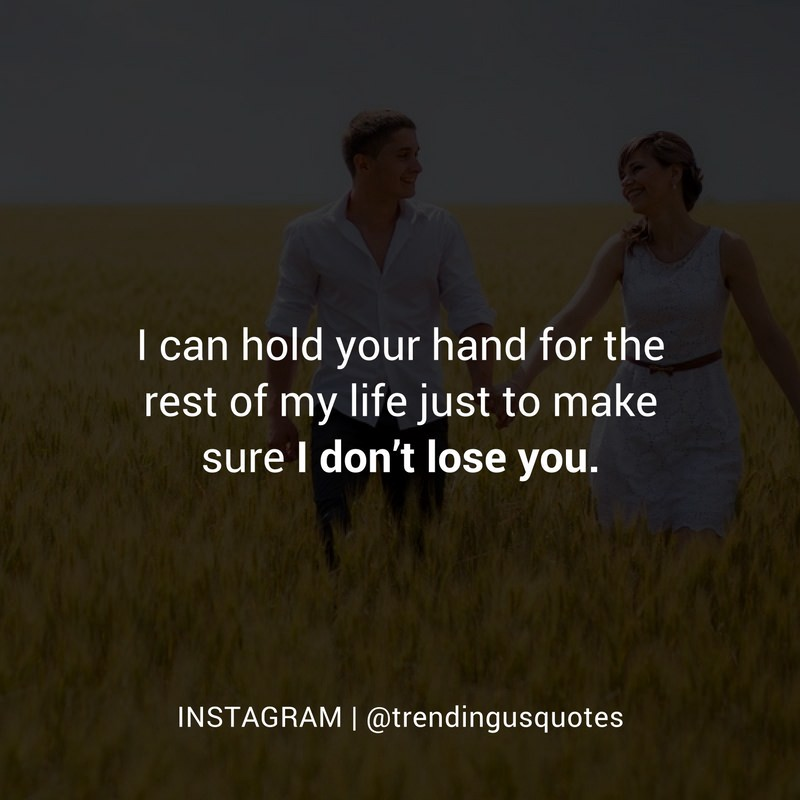 Holding your hands forever
