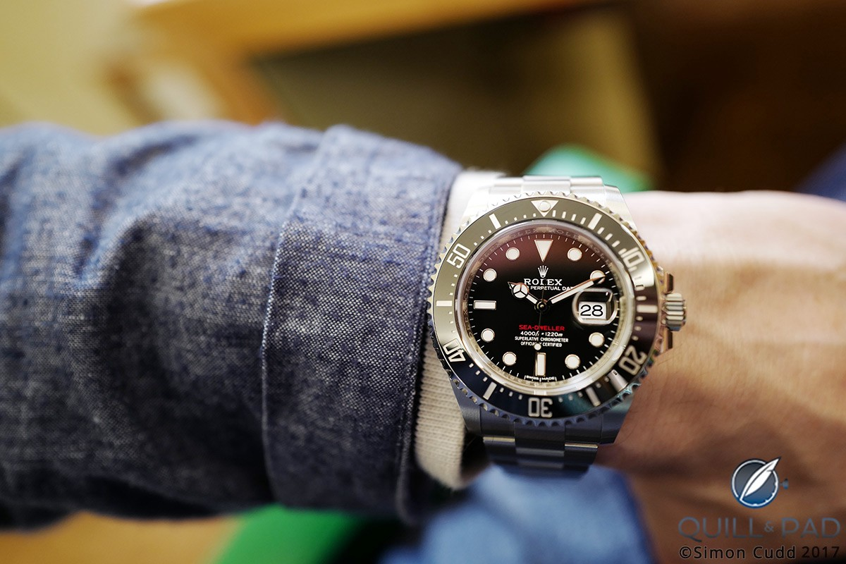 The new Rolex Sea-Dweller sees the Cyclops back in action