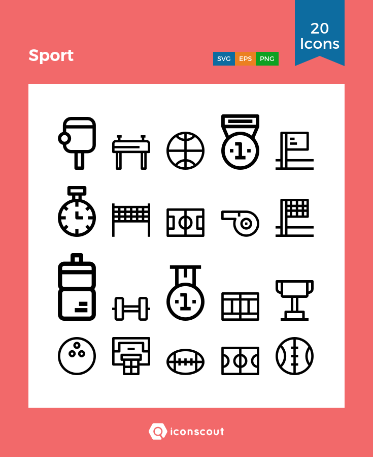 Sport icons by Unlimit Icon