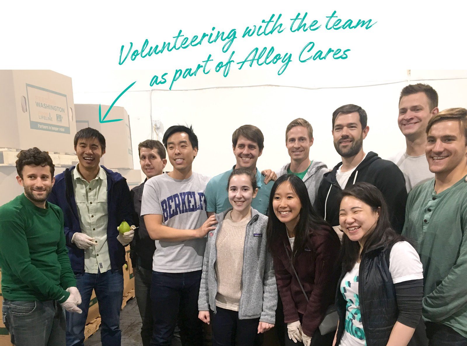 Volunteering with Alloy