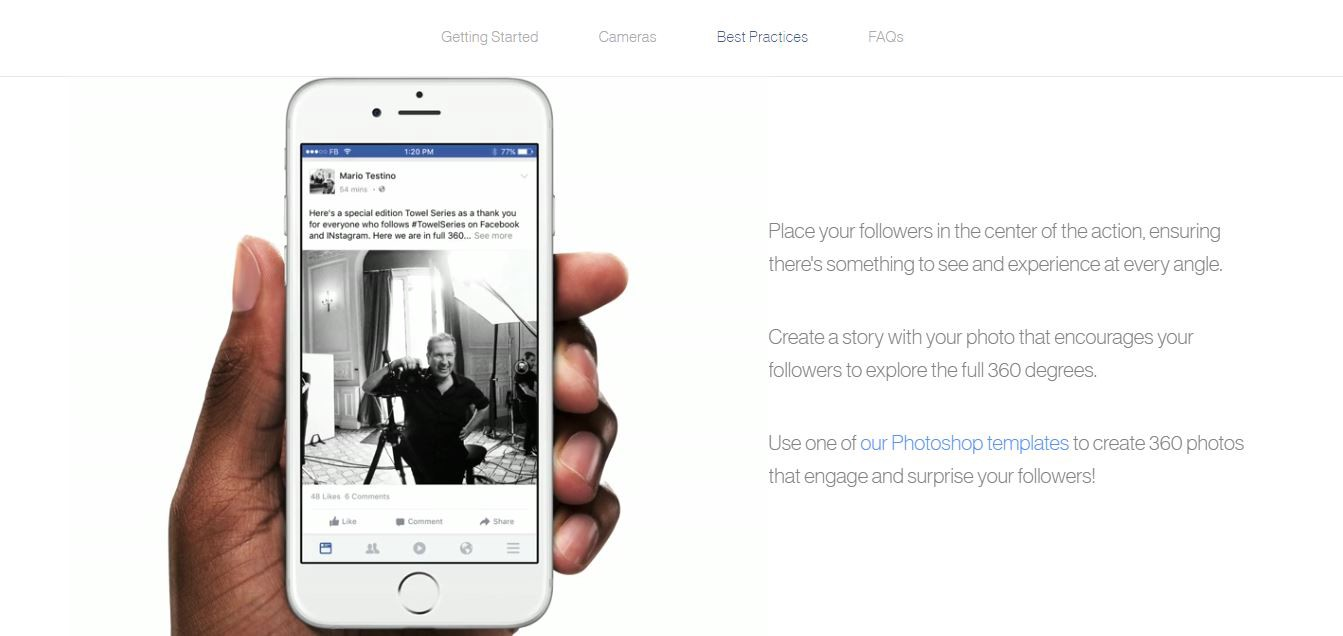 Digital Marketers Take Note Your Facebook Strategy Might Require An - Digital marketer facebook ad template