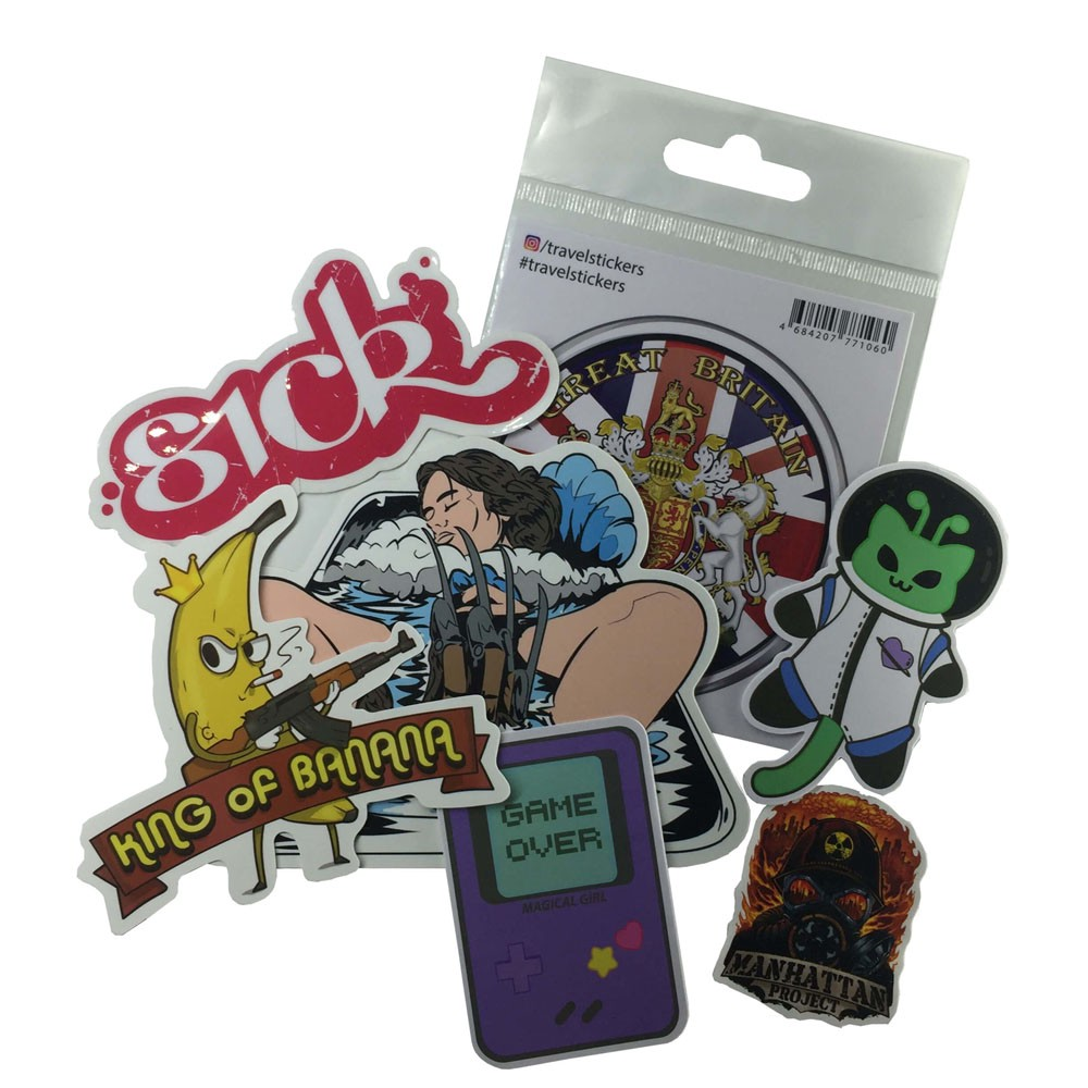 Sticker printing various sticker custom with best solution in
