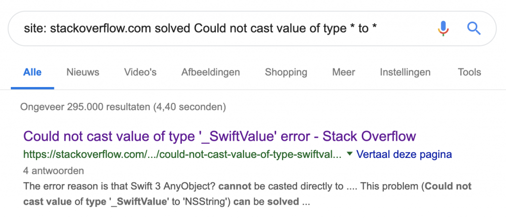 "Finding solved answers using the ""solved"" search term"