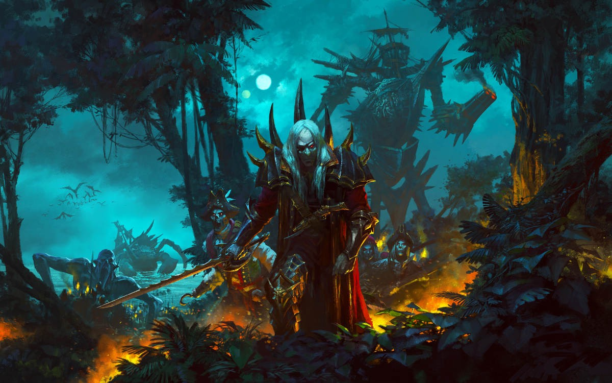 Curse Of The Vampire Coast Comes To Total War: Warhammer II