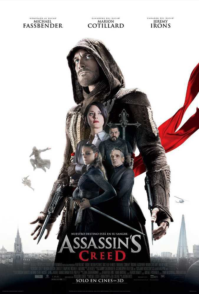 Assassin's Creed 2016 480p HDTS Dual Audio Watch Online Free Download