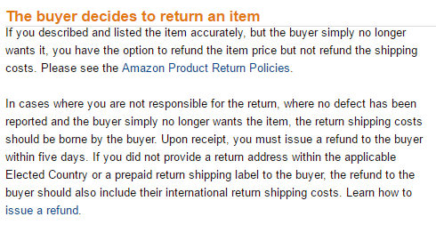 9667650aabb Buyers on Amazon can return items just because, and this can lead to seller  frustration and financial loss. Here's what Amazon says to do when buyers  change ...