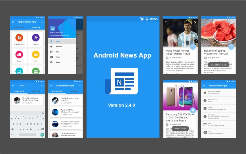 Of The Best Mobile App Templates Of On Android IOS - Mobile app design templates