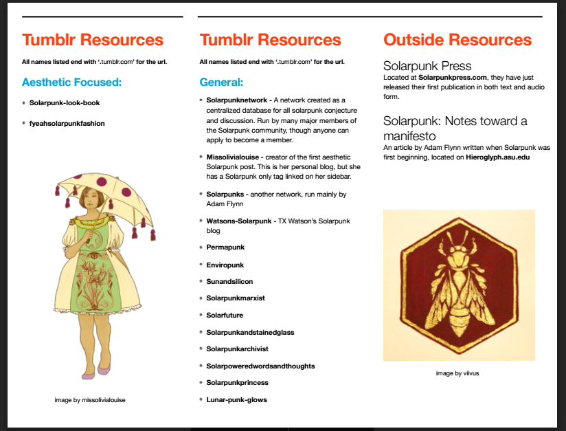 Solarpunk A Reference Guide Solarpunks Medium