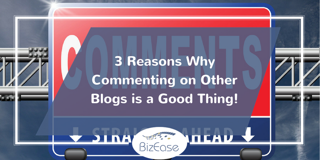 commenting on blogs