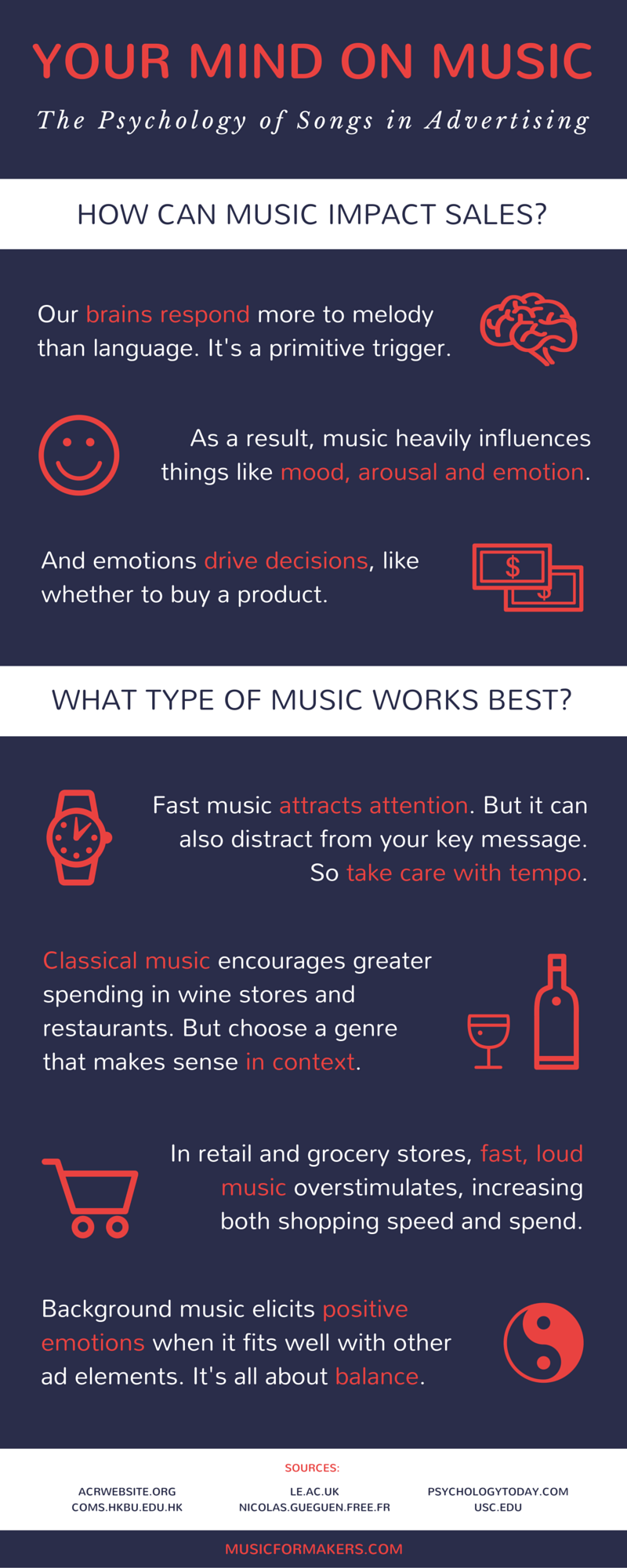 what are the psychological effects of music