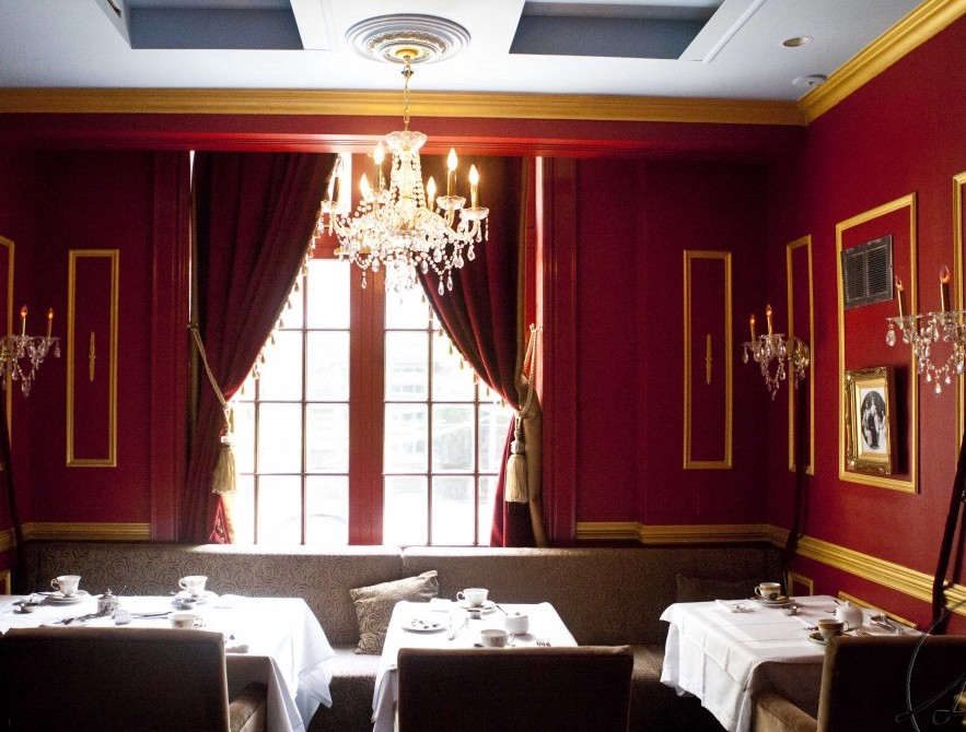 Hotel Interior Design Pschology of Color | Fohlio | Red | Windsor Arms