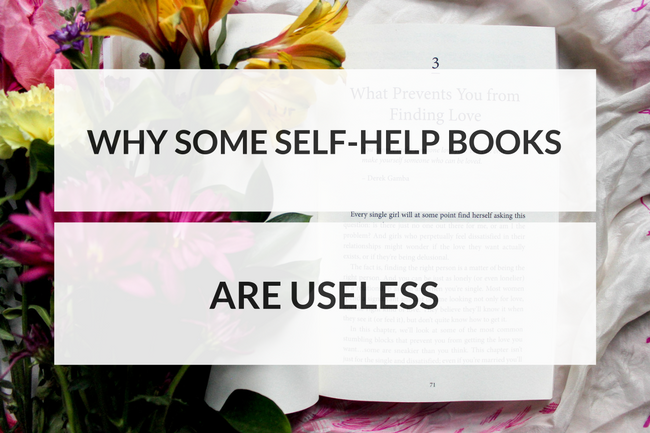 Why Some Self-Help Books Are Useless
