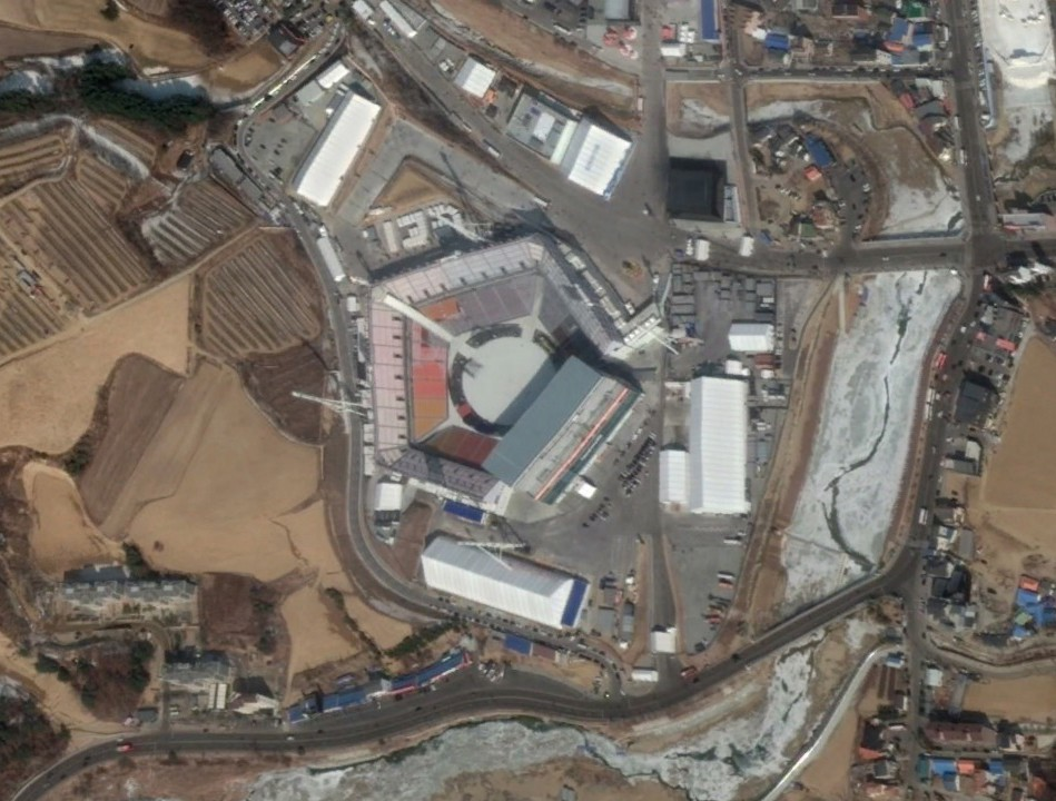 PyeongChang Olympic Stadium Imagery update Explore your