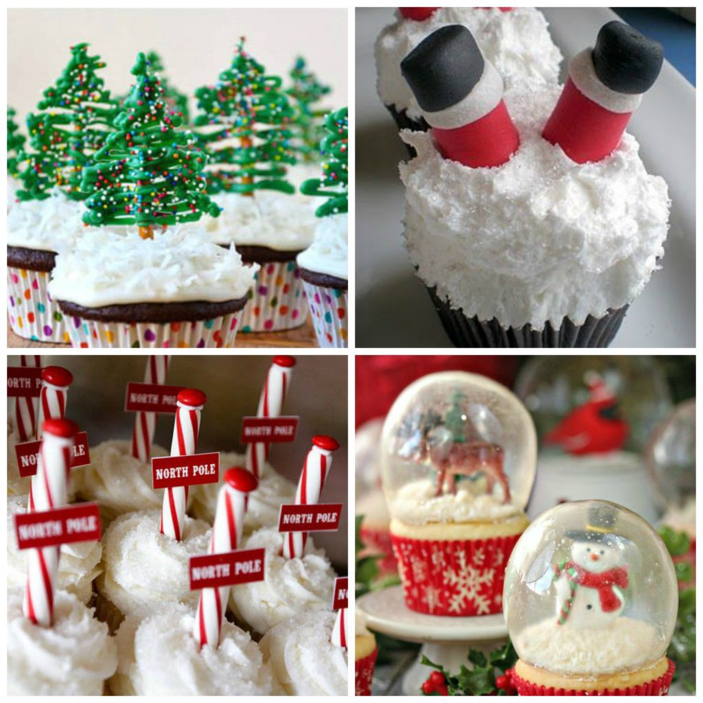 Collage - Cupcakes - Christmas