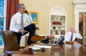 Obama Oval Office Address Not So Much >> The Ridiculous Double Standard Of Respect For The Oval Office