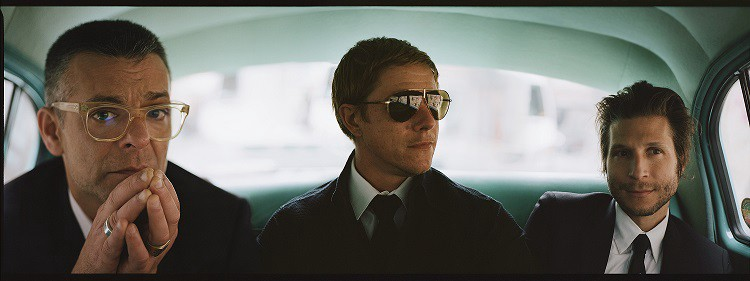 Interpol press shot by Jamie James Medina