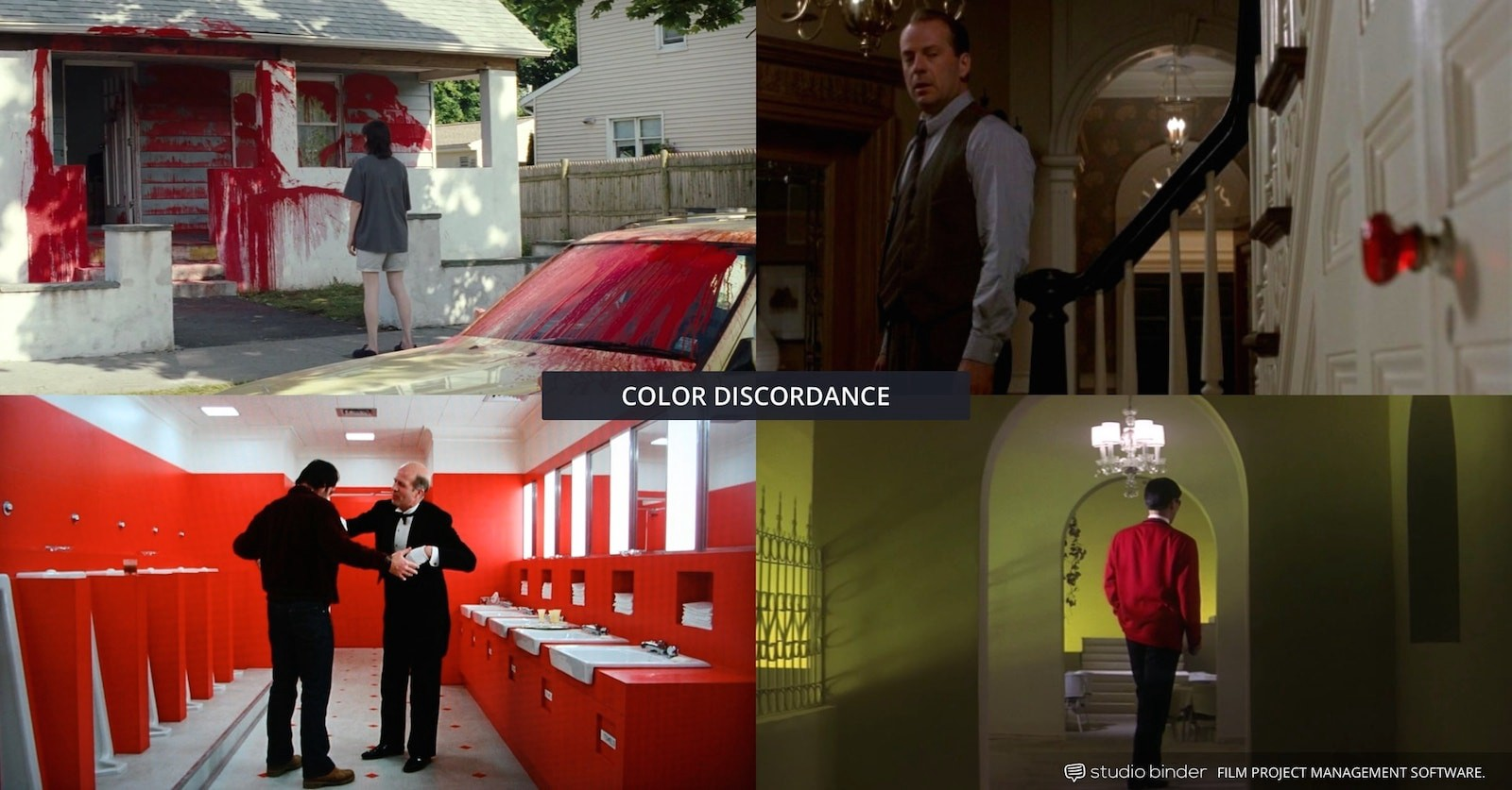 How to Use Color in Film – Example of Movie Color Palette and Scheme – Various Discordance Examples-min