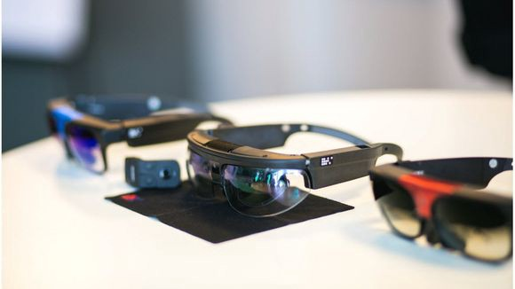 9b54e20160a ODG s R-7 is a self-powered AR device that already is a hit with some  enterprise applications. (Photo  ODG)