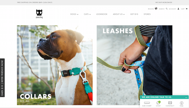 Zee-Dog US Homepage