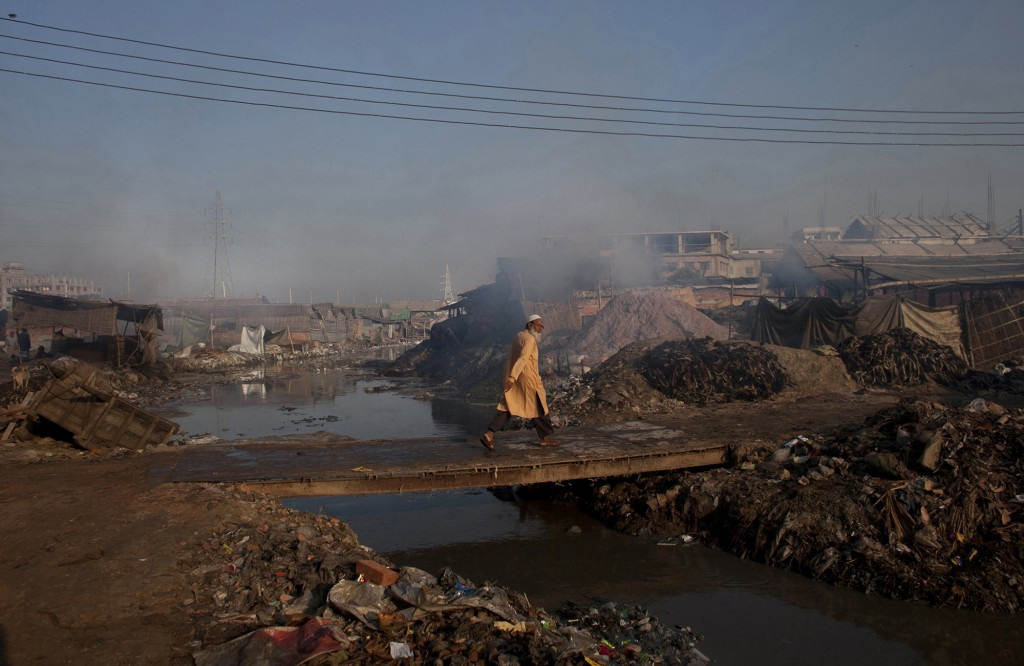 Leather tanneries, Dhaka