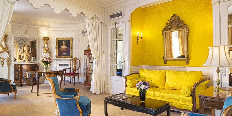 Hotel Interior Design Pschology of Color | Fohlio | Yellow | Hotel Negresco