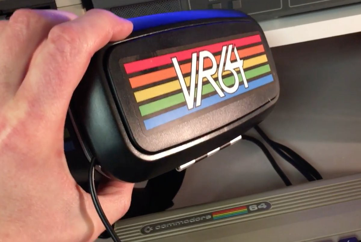 An attempt to bring VR to the Commodore 64: