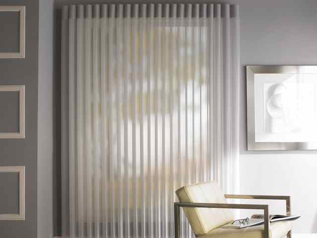 The Sheer Curtains Track Offers The Flexibility To Accommodate Both  Straight And Bay Windows.