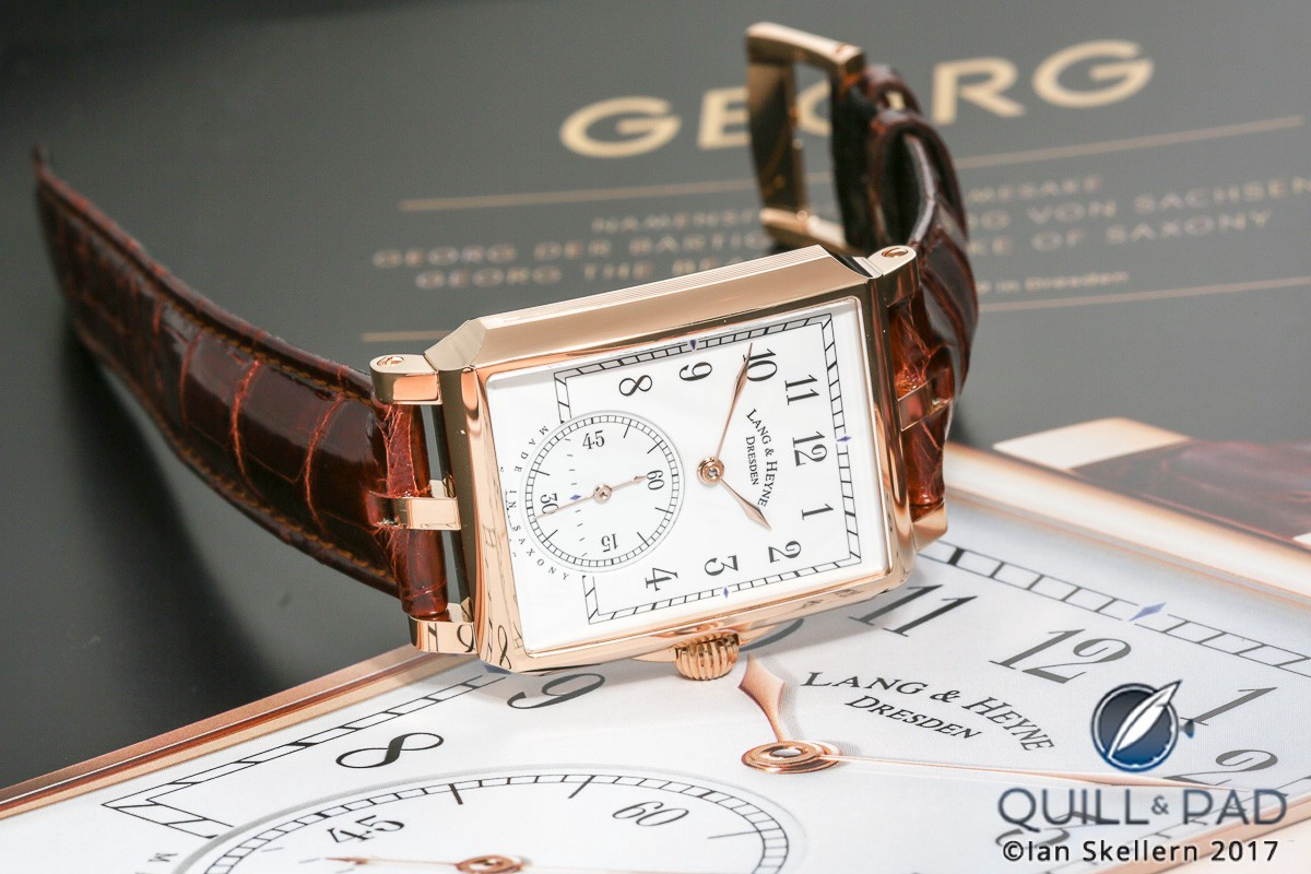 Lang & Heyne Georg in red gold