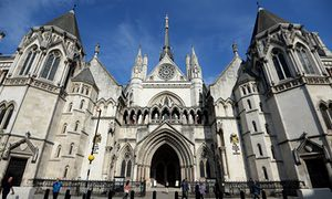 Royal Courts of Justice in London.