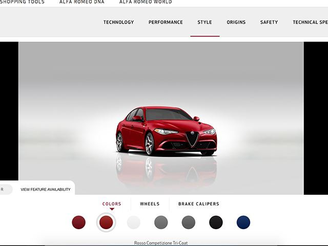you can now customize your alfa romeo giulia to perfection