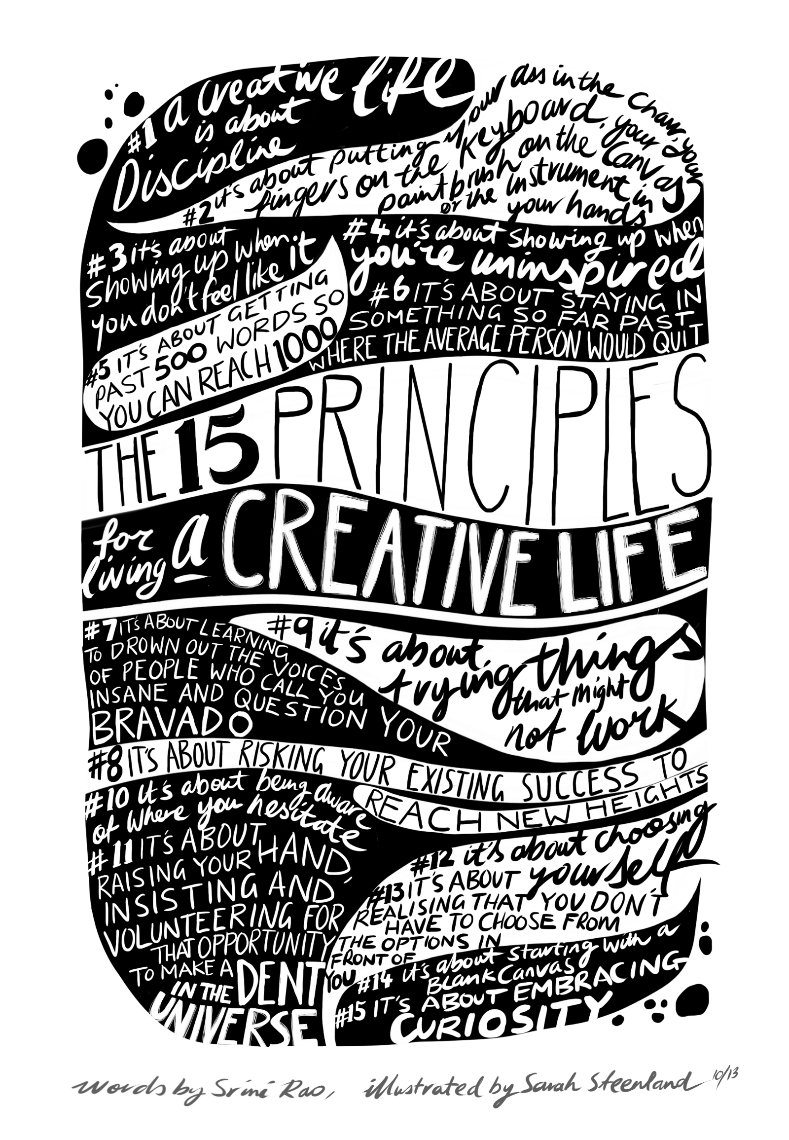 a525f3ecedb 15 Principles for Living a Creative Life – Srinivas Rao – Medium