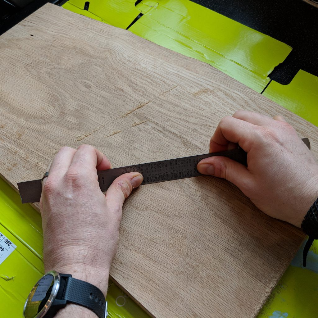 Scraping - Making a Chopping Board