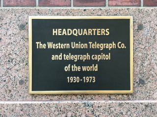 HEADQUARTERS The Western Union Telegraph Co. and telegraph capitol of the world 1930-1973