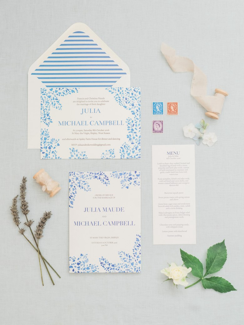 Wedding Invitations Designed by Shillington Graduates