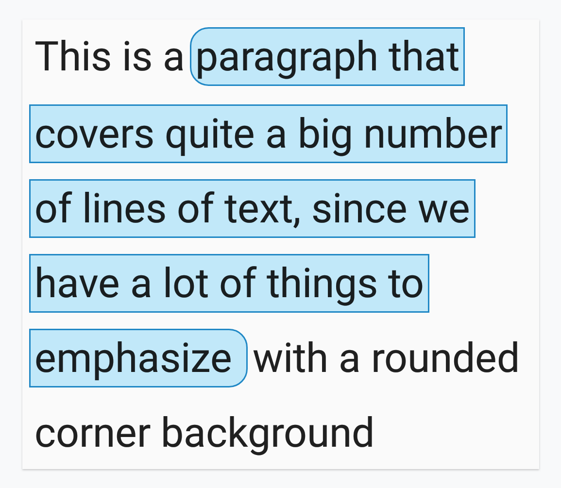 drawing a rounded corner background on text android developers