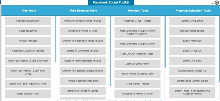 toolkit-for-facebook