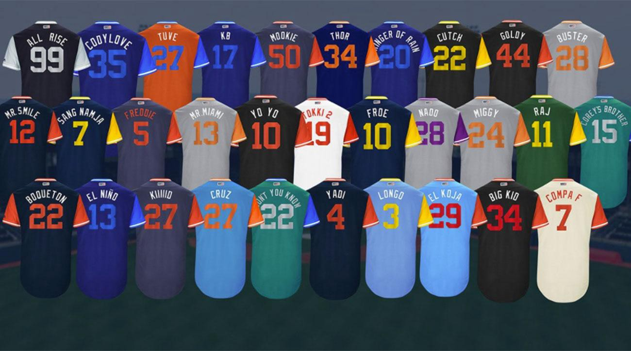 920bdceef The MLB Players Weekend Uniforms are Great