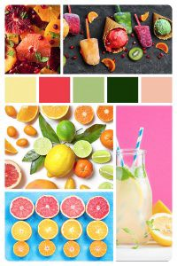 It's a delicious summer mood board from Girl Vs. City | www.girlvscity.com