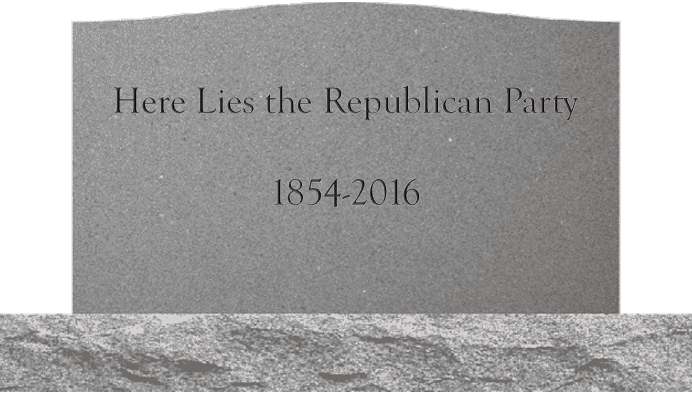 Image result for trump killed republican party