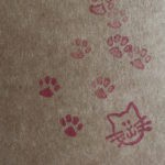 Cat Stamp Photo