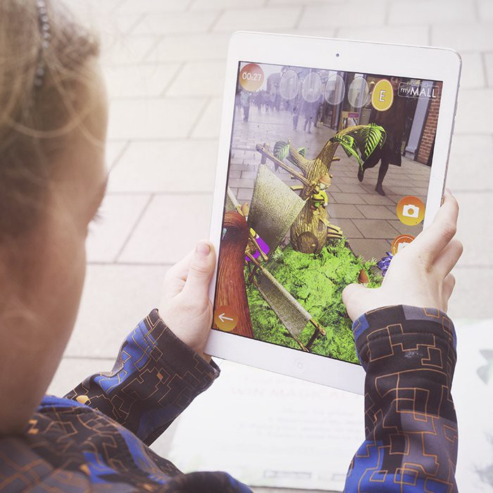 #AR Easter Egg Hunt available at British Land shopping sites throughout the UK: