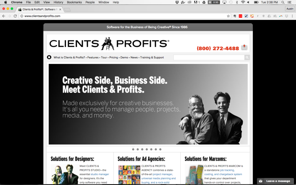 clients and profits software