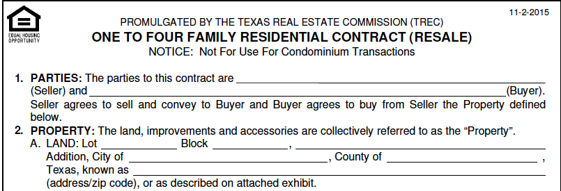 Become Familiar With Your Real Estate Contract Austin Startups