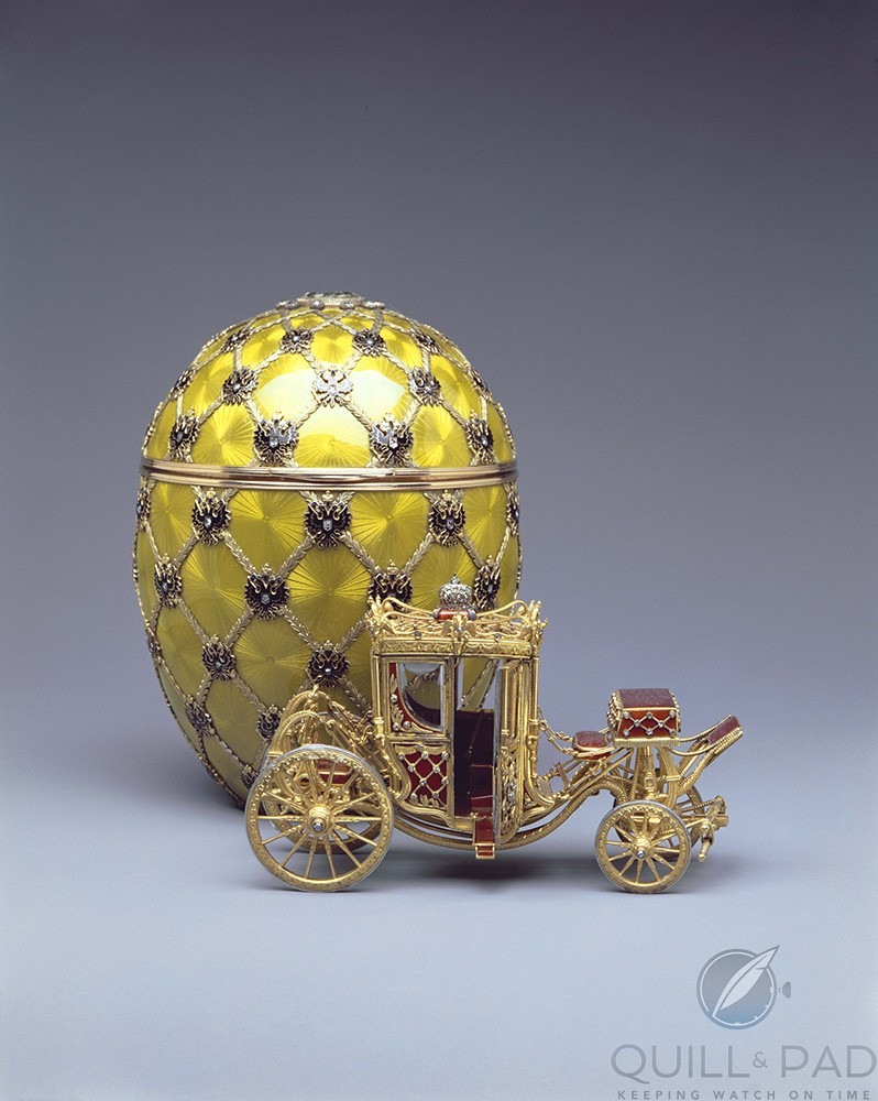Pre-1917 Fabergé Coronation Egg (photo courtesy The Forbes Collection)